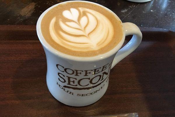 coffee secondのコーヒー